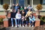 Our family to include Our sons, Ben & David. their wives, Laurie & Aca, and six grandchildren